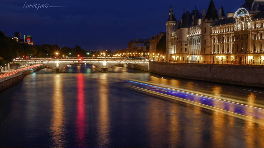 Pont-au-change et Conciergerie, Paris