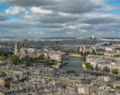 Vue panoramique, Paris